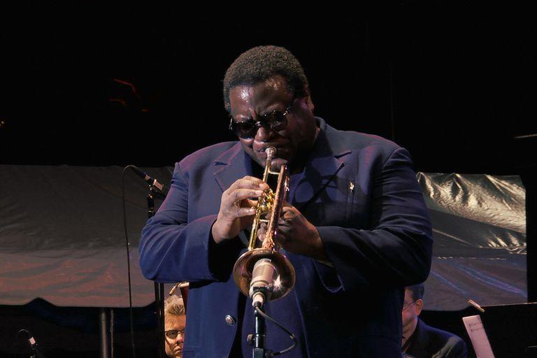 El trompetista Wallace Roney en una imagen de 'Universe'.