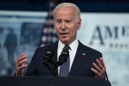 El presidente de EE UU, Joe Biden, en la Casa Blanca, en Washington (EE UU).