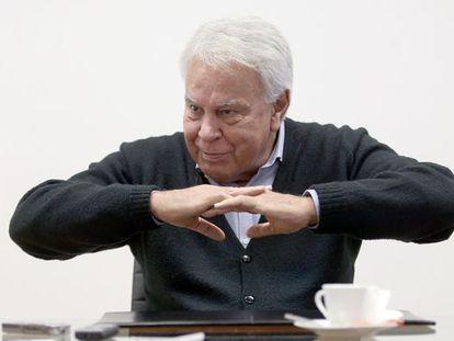 El expresidente del Gobierno Felipe González en una fotografía de archivo.