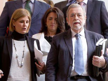 María José García Pelayo y Antonio Beteta, en Jerez.