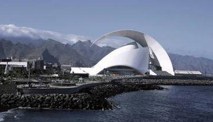 Auditorio Adán Martín de Tenerife.