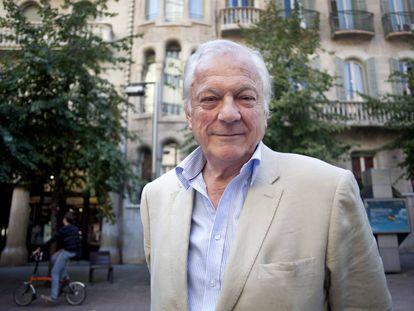 El escritor y periodista británico Alan Riding en Barcelona, 2011