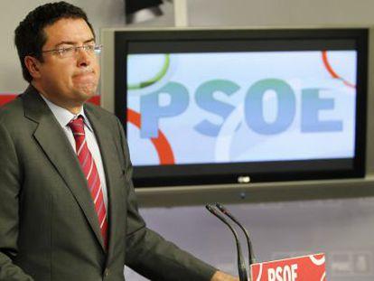Oscar Lopez, secretario de organizacion del PSOE.
