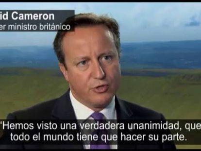 Reacción de David Cameron ante la amenaza del EI.