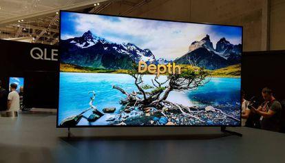 Televisor Q900R 8K de Samsung