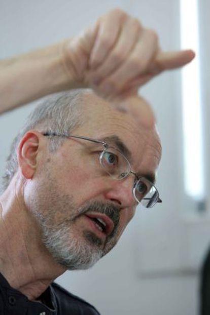 El videoartista Bill Viola.