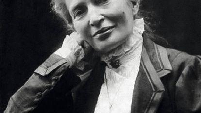 Anna Kulishova, en una fotografía sin fecha en Florencia.