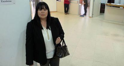Lina Contreras, una de las trabajadoras del Ayuntamiento de la Línea.