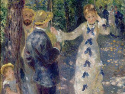 'El columpio', de Renoir (1876).