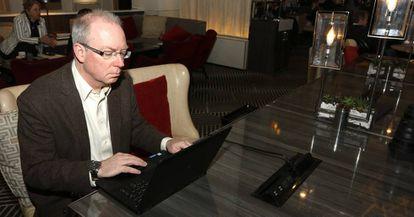 Charles Kane, en una imagen facilitada por BBVA.