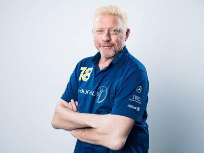 Becker posa antes de la gala de los Laureus, el pasado mes de febrero en Montecarlo.