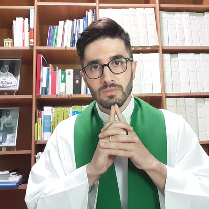El padre Leonardo Lucian Dall Osto.