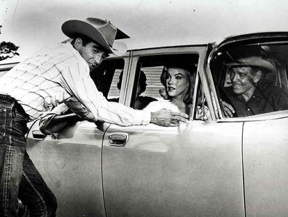 Un momento de la película 'Vidas rebeldes' (1960).