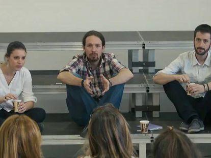 Las claves del documental de Podemos de Fernando León