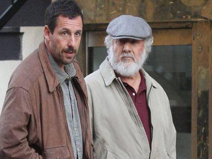 Dustin Hoffman y Adam Sandler no tendrán opción a ser candidatos a los Oscars por 'The Meyerowitz Stories'