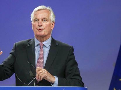 """El negociador jefe de la UE para el """"brexit"""", Michel Barnier."""