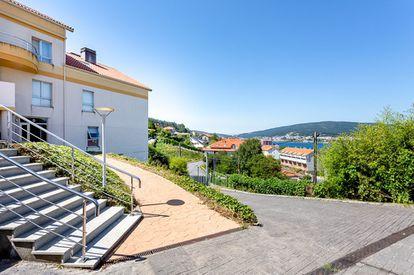 Promoción de la Sareb en A Coruña, comercializada por Servihabitat, en una imagen facilitada por la compañía el pasado agosto.