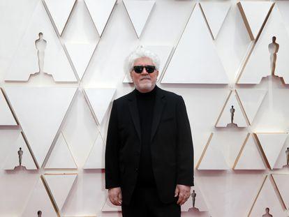 Pedro Almodóvar, en la alfombra roja de los pasados premios Oscar, celebrados el 9 de febrero.