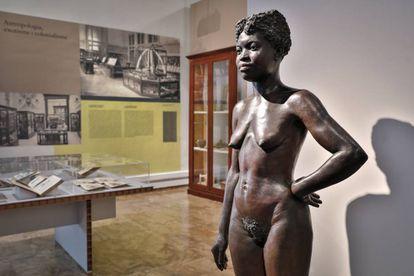 Una sala de la exposición de Valencia sobre la imagen gráfica de la población negra.