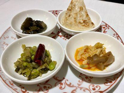 Complementos de la olla, sabores agridulces y picantes. J. C. CAPEL
