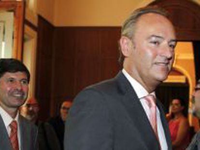 El futuro presidente valenciano, Alberto Fabra.