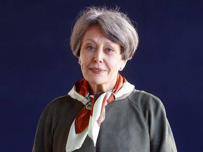 La administradora provisional única de RTVE, Rosa María Mateo, el pasado abril.
