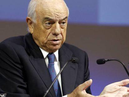 El presidente del BBVA, Francisco González. EFE