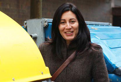 La periodista donostiarra Miren Gutiérrez