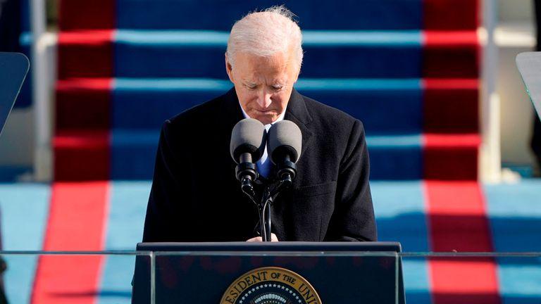 Discurso íntegro de Joe Biden en su toma de posesión como presidente de  Estados Unidos | Elecciones USA | EL PAÍS