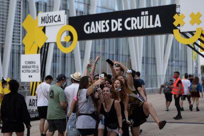 In the vicinity of the Crüilla festival on Saturday.