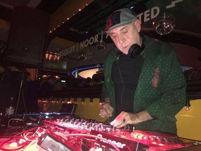 El DJ José Padilla en 2016