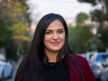 Retrato de Wala´a Hassan, una activista jordana que forma parte de una de las organizaciones feministas más activas de Oriente Medio.