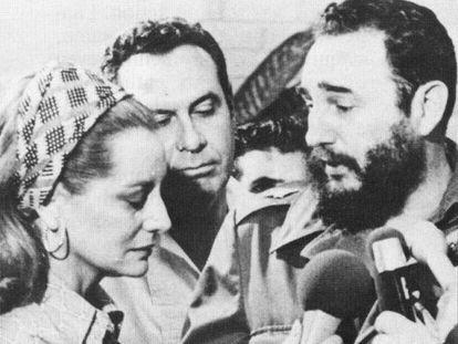 Barbara Walters entrevista a Fidel Castro en 1970.