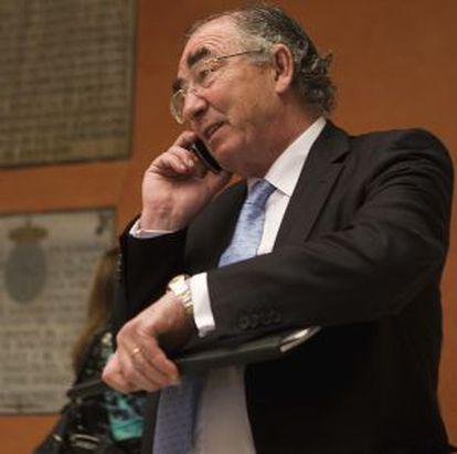 Amado Franco, el nuevo presidente de la fusión de Liberbank, Ibercaja y Caja3
