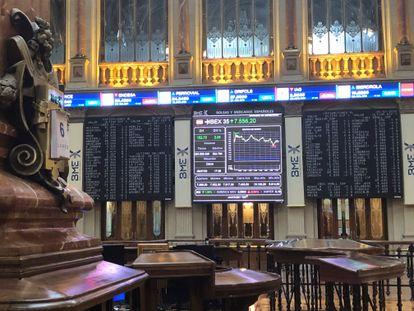 El Ibex 35, el selectivo de la Bolsa de Madrid