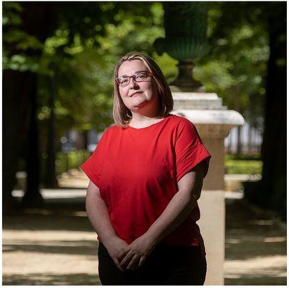 Teba Roldán, afiliada del PSOE de Cabra (Córdoba).