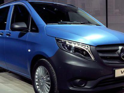 Mercedes presenta en Berlín su nueva furgoneta Vito fabricada en Vitoria