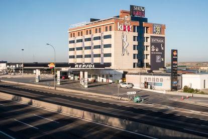 El prostíbulo Sala Kixx en la salida de Madrid hacia Toledo este sábado