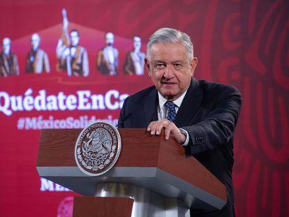 López Obrador, durante su conferencia matutina el 30 de diciembre.