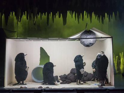 Imagen de 'La nuit des taupes'.