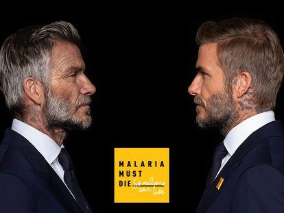 Un Beckham de 70 años habla de un mundo sin malaria para una campaña benéfica