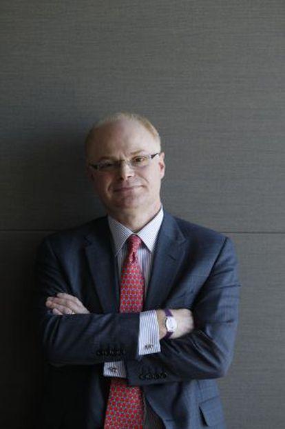 Jon Terry, socio de PwC.