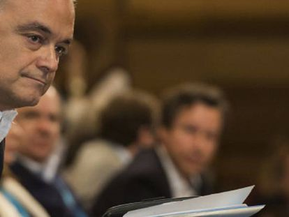 El vicepresidente primero del Grupo del PPE en el Parlamento Europeo, Esteban González Pons.