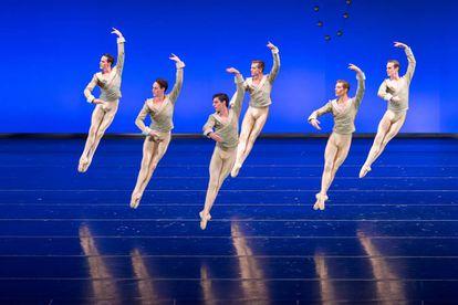 Un momento de 'El cascanueces', por la Compañía Nacional de Danza.
