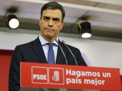 El líder del PSOE no renuncia a los votos de los independentistas pero les avisa de que  hará cumplir la Constitución