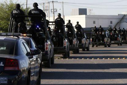 La Policía Federal de México inició el pasado jueves su despliegue por Ciudad Juárez para relevar al Ejército en las tareas de seguridad de la zona