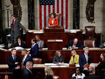 La Cámara de Representantes, en una imagen de 2019.