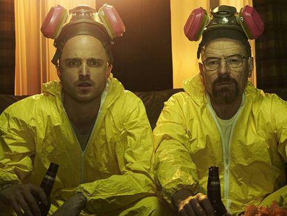'Breaking Bad', la serie creada por Vince Gilligan y protagonizada por Bryan Cranston y Aaron Paul es la mejor valorada en este listado.