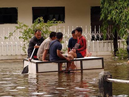 Inundación en Yakarta