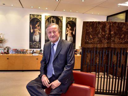 Cristiano Rattazzi, presidente de Fiat Argentina, en su despacho en Buenos Aires.